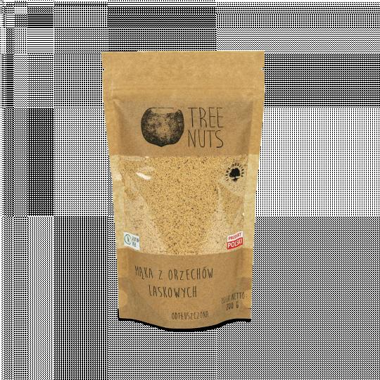 Entfettetes Mehl aus gerösteten Haselnüssen 200g